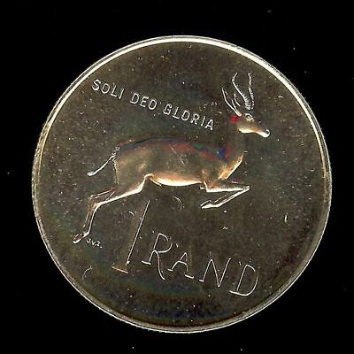 South Africa 1967 Silver Rand Appears A Nice Gem+ Proof@@  The Most Beautiful On