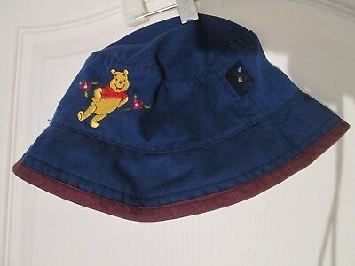 f1e23eb8649 WINNIE THE POOH Embroidered Black Youth Size Cap Hat -  12.95
