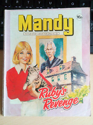 MANDY Picture Library for Girls  No.55 -  Rubys Revenge  1982