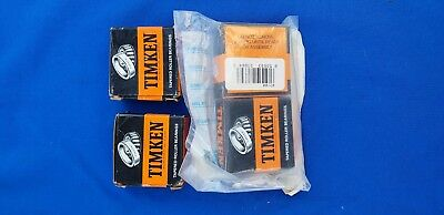 Lot of 4ea Timken 07100-20629 FAA PMA Tapered Roller Bearing Cones NIB
