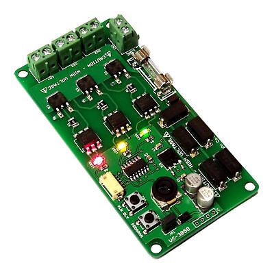 """AC Traffic Light Controller / Sequencer """"Noiseless"""" Complete Installation Kit"""