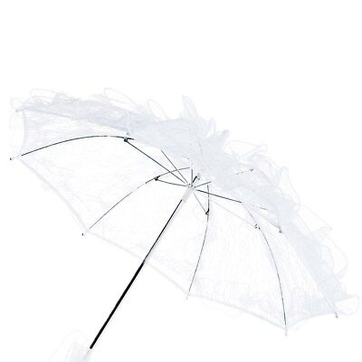 1pc Exquisite Western Style Lace Parasol Handmade Umbrella for Girls Women Bride