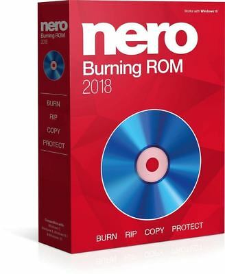 NEW Nero Burning ROM Express 2018 Portable - Lifetime License