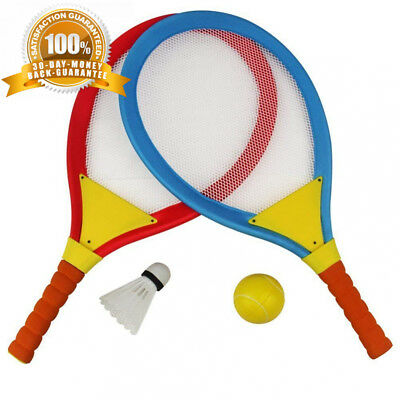 Akokie Badminton Tennis Rackets for Kids 2 In 1 Beach Sport Toy Set with...