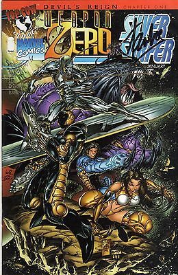 Marvel - Weapon Zero/Silver Surrfer #1 -Signed Stan Lee & Mark Silvestri