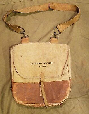 WWI Named US Army officers bag