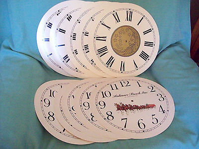Advertising  Anheuser-Busch, Celestial Moon and Stars  clock dials
