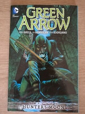Green Arrow Volume 1 Hunters Moon Dc Paperback Mike Grell