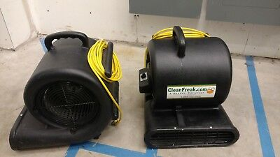 Cleanfreak Air movers carpet and floor dryers fans blowers(only one left)