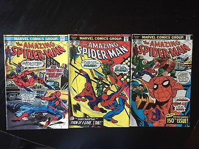 amazing spider-man #147,149,150(clone issues!)