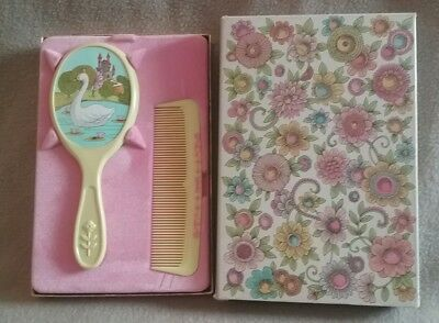 """Vintage AVON """"Her Prettiness"""" Brush & Comb Set NEW IN BOX!"""