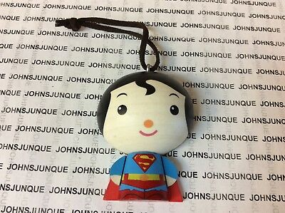 Superman  Hallmark Ornament 2018 One Sided Wooden Dc Comic New In Box