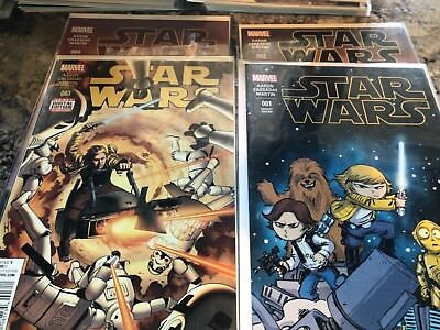 Marvel Star Wars new series issues 1-46 annuals 2,3 NM no gaps
