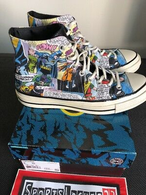 a7c0695e3c3113 Converse Chuck Taylor All Star x DC Comics  70 Batman Shoes 155359C Size 8