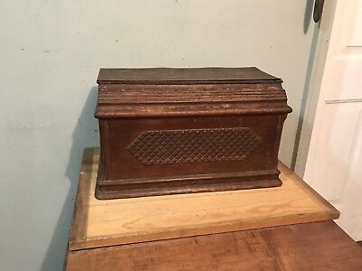 Antique Wood Singer Sewing Machine Cover