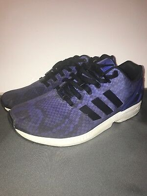 cb3c786ae ... amazon used adidas originals xeno zx flux blue size 9.5 d3957 44477