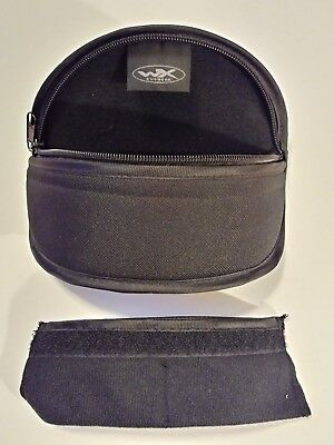 Wiley X Goggles/GlassesNylon Carry Case w/ Sleeve for extra Lenses