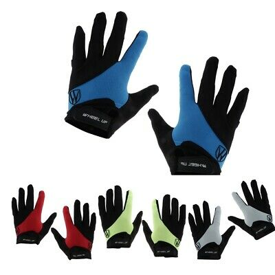 Shockproof MTB Cycling Bicycle Road Bike Motorcycle Sport Full Finger Gloves