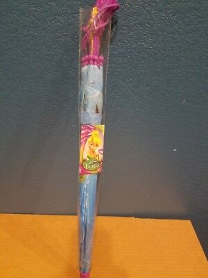 Disney Tinkerbell Molded Handle Umbrella for Kids