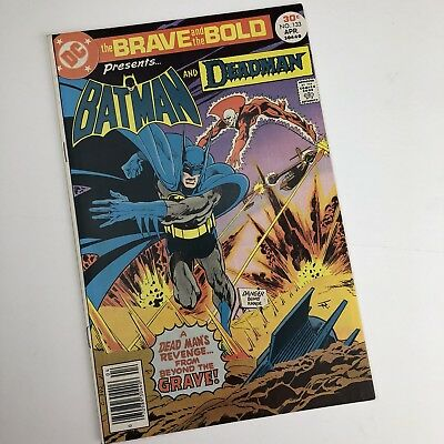 Dc Comic Brave And The Bold #133 Apr 1977 - Batman And Deadman