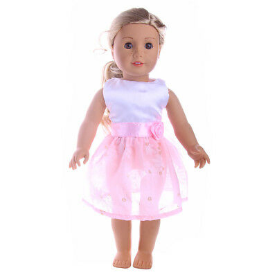 Princess dress For american girl doll clothes of 18inch doll