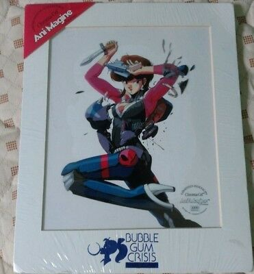Limited Edition Bubble Gum Crisis Caroma Cel by Ani Magine