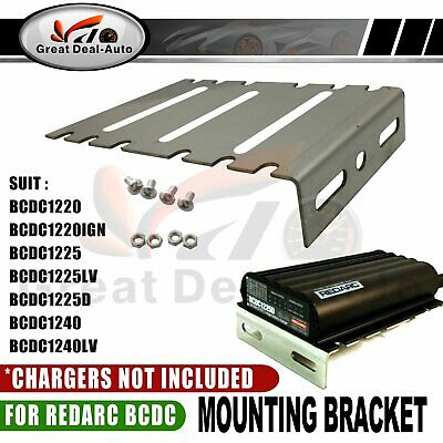 Fit REDARC BCDC1220IGN BCDC1225LV Stainless Steel Mounting Bracket w/ Fasteners