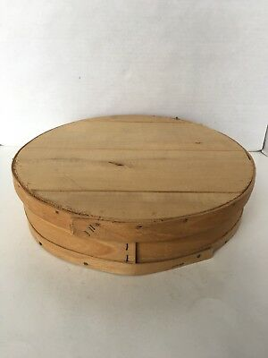 Dufeck's Round Wood Cheese Box
