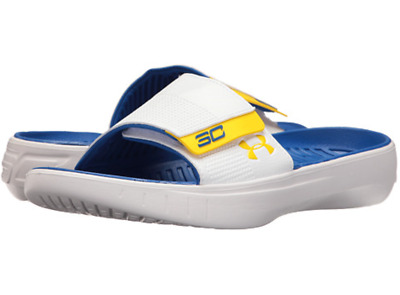 170ebacff42 Under Armour Curry 3 Slides Flip Flops Youth Kids Size 1 Steph Curry BRAND  NEW
