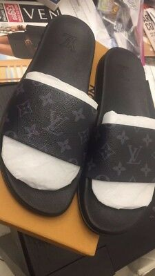 85b3f4b3482 SLIPPERS MENS LOUIS Vuitton Authentic -  250.00