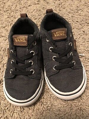 f4c8a5959e VANS HALF CAB Suede Fleece Tobacco Brown Vn000Okvf3D Toddler Size 8 ...