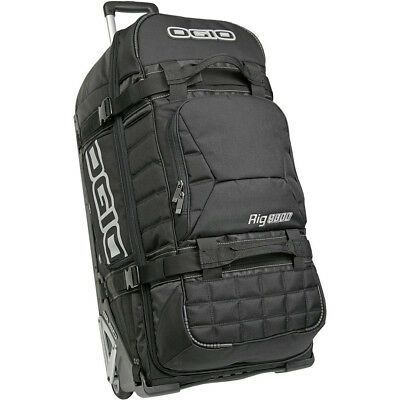 Ogio NEW RIG 9800 Black Gear Bag Mx Luggage Dirt Bike Travel Motocross Gear Bag