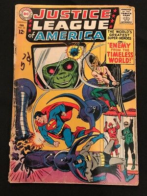 Justice League Of America #33 GD 1965