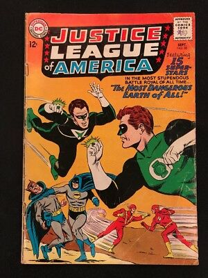 Justice League of America # 30 GD JSA Crossover Crime Syndicate