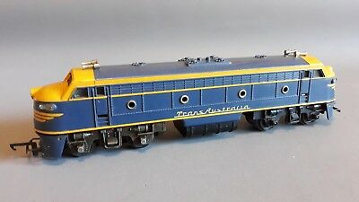 Triang Moldex R159 Trans-Australia Loco Runs Well Good Cond Unboxed Oo Gauge(Fp)