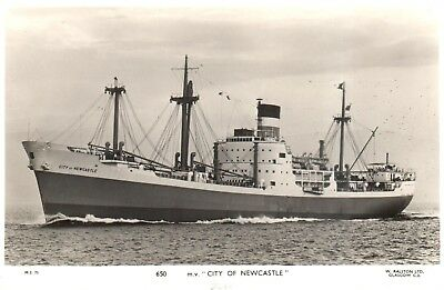 Carte Postale - Bateau - Ship - Boat - M.V. City of Newcastle