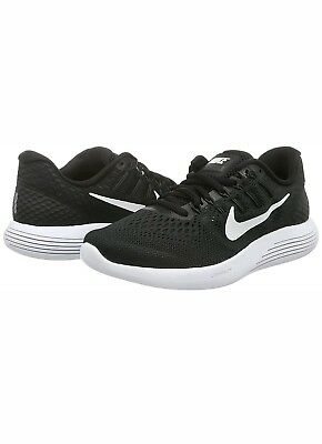 af4108acfcf65c Nike Lunarglide AA8676-001 Black White Men s Stability Running Shoes 8 9 9.5  NEW