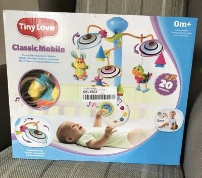 Baby Cot Mobile - Tiny love Classic Mobile - Brand new in box