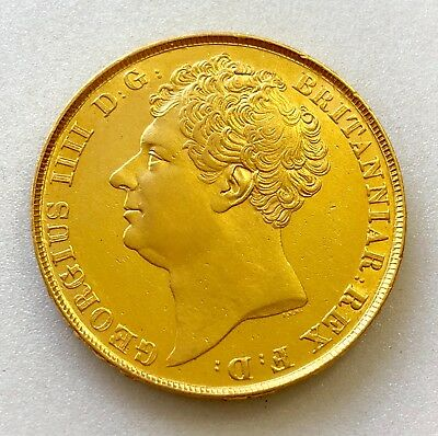 1823  Two Pound  Double Sovereign £2  George Iv   ®-1283