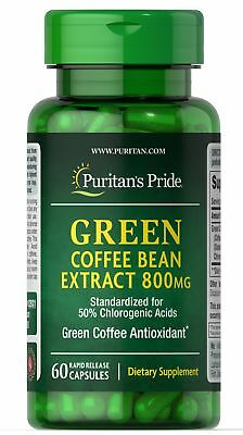727d23855b64 BOGO! GREEN COFFEE Bean Extract 800mg Two For One Sale- All Natural ...