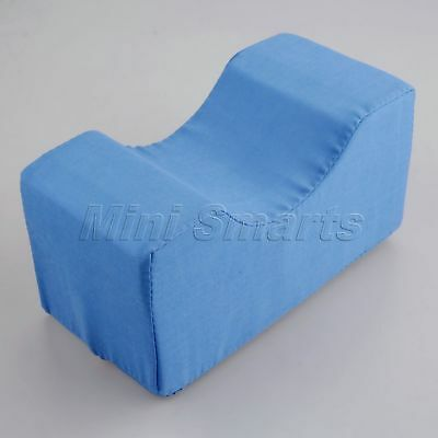 20x10x10cm Blue Foam Ankle Knee Pillow Bed Support Cushion Pressure Relief Pad