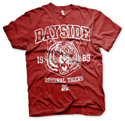 Officially Licensed Bayside 1989 Original Tigers Men's T-Shirt S-XXL Sizes