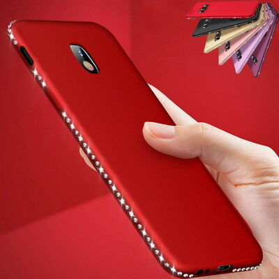 For Samsung Galaxy J7 J5 J3 2017 Shockproof Diamond Soft Matte Slim Case Cover