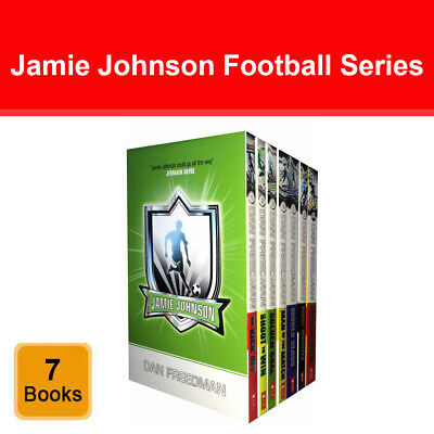 Jamie Johnson Football Series 7 Books Collection Dan Freedman Set Sports Pack