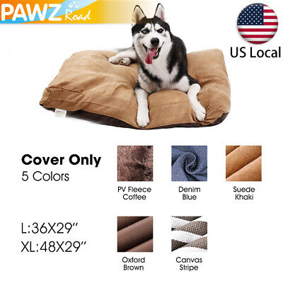 Pet Dog Cat Bed Replacement COVER ONLY Soft Pad Cushion Washable Slipcover