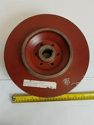 Unbranded Red CI Impeller for centrifugal pump URS 125x100-250 C/W 268mm Ø - New