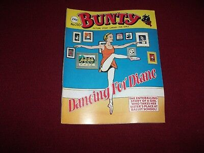 BUNTY  PICTURE STORY LIBRARY BOOK from the 1980's - never been read:ex condit!