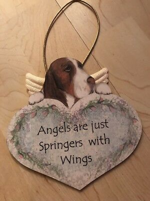 Angels are just Springers  with Wings