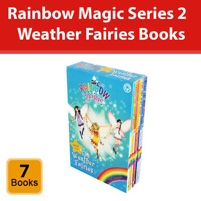 Rainbow Magic The Weather Fairies Collection 7 Books Set Series 2 (8-14) Pack