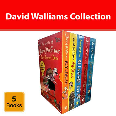 David Walliams Collection 5 Books Box Set Gangsta Granny, Mr Stink, Billionaire